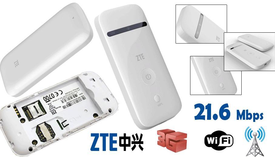 Bộ phát wifi 3G/4G ZTE MF65